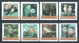 Equat. Guinea - BIRDS OWLS MNH - Vogels
