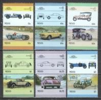 Nevis 1986 Mi 398-409 MNH CARS AUTO - Cars