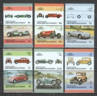 Union Island (Grenadines Of St. Vincent) 1986 Mi 176-187 MNH CARS AUTO - Cars