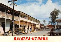 Polynésie Française - RAIATEA UTUROA - La Capitale De Raiatea - Automobile - Frans-Polynesië