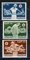 Ruanda Urundi Nr 202-204     Neufs - Postfris - MNH   (xx) - Ruanda-Urundi
