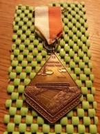 Medaille / Medal - Medaille -  '5e Boortorenwandeltocht', SCHOONEBEEK 28-8-1961 - The Netherlands - Nederland