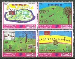 N7- Pakistan 1980 Riccione 80 International Stamp Exhibition. - Pakistan