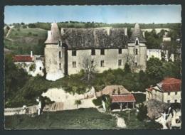 En Avion Au Dessus De Montmoreau ( Charente) Chateau Du Marquis De Rochechouart  Cpsm Gf ( 10,4 X 14,5cm ) Obe2943 - Otros Municipios
