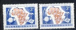 Ruanda Urundi Nr 217-218          Neufs - Postfris - MNH   (xx) - Ruanda-Urundi