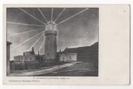St Catherines Lighthouse Niton Isle Of Wight Pre 1918 Postcard J Thompson - Angleterre