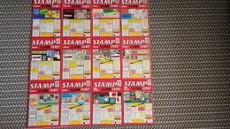 STAMP AND COIN MART MAGAZINE JANUARY 1992 TO DECEMBER 1992 - Magazines