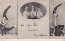 CIRQUE,,,LES  MARCELLOS   ACROBATES ,  EQUILIBRISTES,,, - Cirque