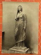 Statua Di Livia MUSEO Pompei  CARTOLINA - Sculture