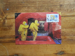 Maximum Card, Heart, Civil Protection, Police - Berufe
