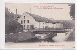 88 THUNIMONT Forges De Le Pont Tournant ,navigation Fluvial ,canaux - France