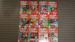 STAMP AND COIN MART MAGAZINE JANUARY 1997 TO DECEMBER 1997 - Magazines