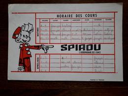 L18/85 Buvard. Spirou - Blotters