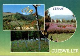 68 VIEIL ARMAND CIMETIERE DU SIBERLOCH CIMETIERE DE CERNAY CIMETIERE DE GUEBWILLER - France