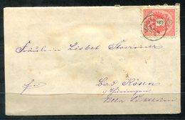 4505 - ÖSTERREICH - Blumengrüße Aus Spindelmühle Mit Fingerhut-Stempel Auf Brief - Storia Postale