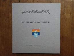 REPUBBLICA - Erinnofili - Foglietto Ricordo 1 Celebrazioni Colombiane Nuovo ** + Spese Postali - F.D.C.