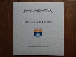 REPUBBLICA - Erinnofili - Foglietto Ricordo 2 Celebrazioni Colombiane Nuovo ** + Spese Postali - F.D.C.