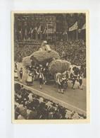 1939  3. Reich  Sonderkarte  Zur 5. KdF Reichstagung Hamburg  Festzug Der Ernte Frankiert Mit SST - Germania