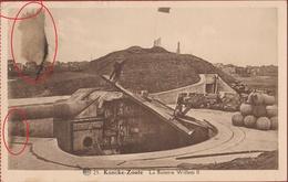 Knokke Knocke Zoute La Batterie Batterij Kaiser Wilhelm II Artillerieabschnitt Ost WW I 1 World War Artillery Battery - Knokke