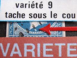 R1917/61 - NAPOLEON III - N°14A - RARE PC 826 : CHAUMONT-SUR-AIRE (Meuse) ➤➤➤ INDICE 19 - VARIETE ➤➤➤ Tache Sous Le Cou - 1853-1860 Napoléon III