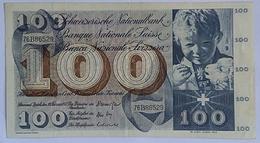 Switzerland 100 Francs 1971 - Suisse