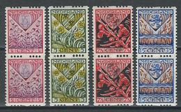 Niederlande NVPH Pairs R78-81, Mi 201-04B  * MH - Booklets