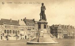 LOUVAIN-LEUVEN - Place Du Peuple - Statue De Sylvain Van De Weyer - Thill, Série 36, N° 134 - N'a Pas Circulé - Leuven