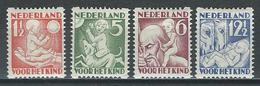Niederlande NVPH R86-89, Mi 236-39D  * MH - Libretti
