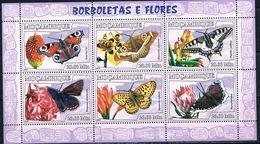 Bloc Sheet Papillons Butterflies   Neuf ** MNH  Mocambique Mozambique 2007 - Papillons