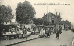 LIMEIL BREVANNES - Le Marché. - Limeil Brevannes