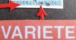 R1917/65 - NAPOLEON III - N°14Ah - PC 248 : BAR-LE-DUC (Meuse) - VARIETE ➤➤➤ POSTFS + 0 Du 20C Gauche Non Fermé - 1853-1860 Napoléon III
