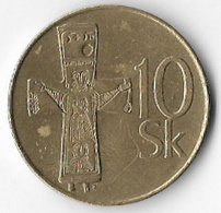 Slovakia 1995 10 Koruna [C811/2D] - Slovaquie