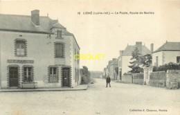 44 Ligné, La Poste Route De Nantes, Magasin Rabu..., Belle Carte Pas Courante - Ligné