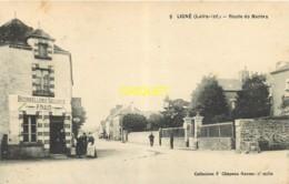 44 Ligné, Route De Nantes, Animation Devant La Bourrellerie-sellerie Naud - Ligné