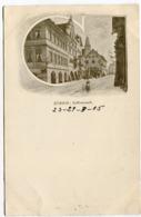Zürich SAFFRANZUNFT Signiert POL Um 1900 - ZH Zürich
