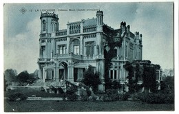 La Louvière - Château Boch (façade Principale) - 1908 - 2 Scans - La Louvière