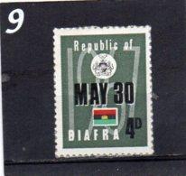 BIAFRA 1968 Independence 4d MNH - Nigeria (1961-...)