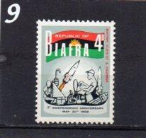 BIAFRA 1968 First Anniversary 4d MNH - Nigeria (1961-...)