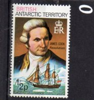 1973 James Cook 1//2p MNH - Unused Stamps