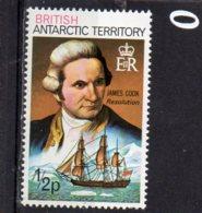 1973 James Cook 1//2p MNH - British Antarctic Territory  (BAT)