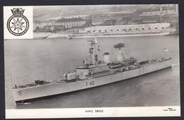 RPPC Modern Real Photo Postcard HMS Sirius Royal Navy Ship Boat RP PC - Warships