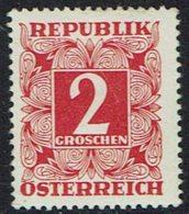 Österreich 1949 ,  Portomarken, MiNr.: 233 ** - Segnatasse