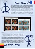 Max Ernst (1871-1976) Bloc-souvenir 1991 - Y&T PEC2727 -  Neuf ** (sous Blister) - Documents Of Postal Services