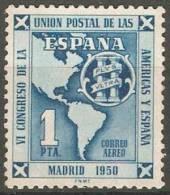 España 1951. UPAE. Union Postal Americas España. Ed 1091. MNH. **. - 1931-Heute: 2. Rep. - ... Juan Carlos I