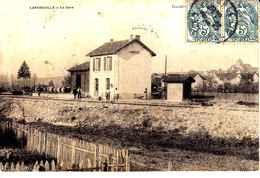 10 . Aube   : Landreville : La Gare . - France