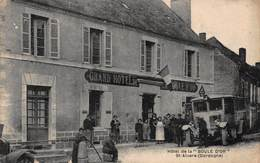 """CPA Hôtel De La """" BOULE D'OR """" St-Alvere ( Dordogne ) - Autres Communes"""