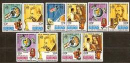 Burundi 1977 OCBnr 731-736 PA LP 441-444 *** MNH  Cote 14,00 Euro - Burundi