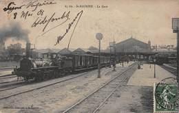 CPA St NAZAIRE - La Gare - Saint Nazaire