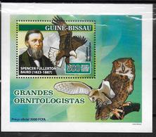 GUINEE BISSAU  BF  De Luxe  N° 2314  * *  Oiseaux Ornithologues Hiboux Chouettes Aigle Fullerton - Aigles & Rapaces Diurnes