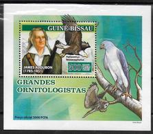 GUINEE BISSAU  BF  De Luxe  N° 2315  * *  Oiseaux Ornithologues Hiboux Chouettes Aigle Audubon - Aigles & Rapaces Diurnes